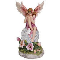 Abchomecollection Decorative Fairy Crystal LED Night Light