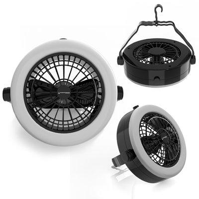 Wakeman Portable Camping Lantern with Fan