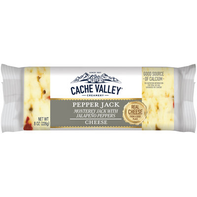 Cache Valley® Creamery Pepper Jack Cheese 8 oz. Pack