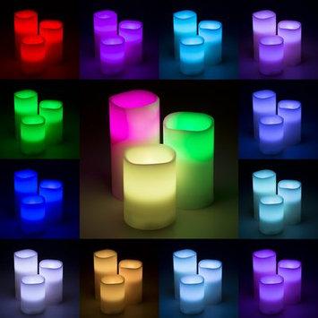 Latitude Run 3 Piece Vanilla Flameless Candle Set