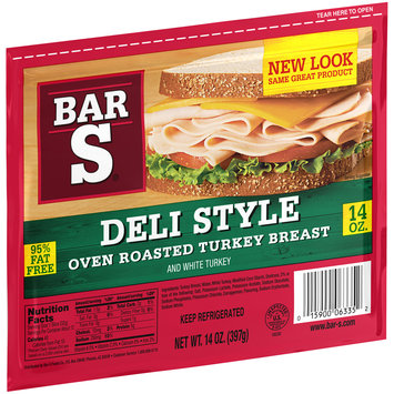 Bar S® Deli Style Oven Roasted Turkey Breast