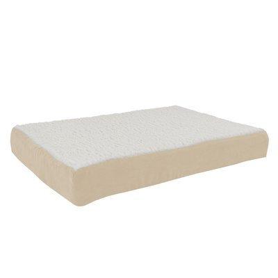 Petmaker Orthopedic Sherpa Memory Foam Dog Mat Size: Medium (30