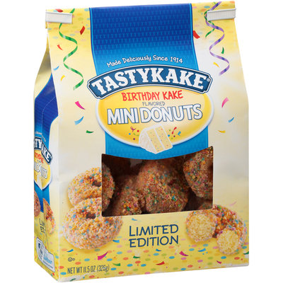 Tastykake® Birthday Kake Flavored Mini Donuts