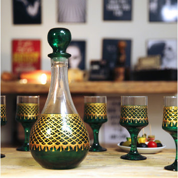 Kamsah 7 Piece Decanter Set