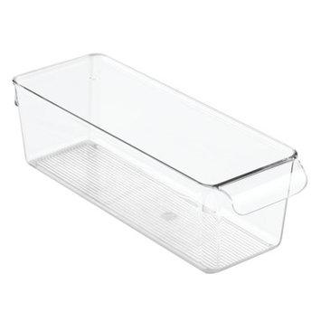 InterDesign Linus Kitchen Pantry Cabinet Pullz Organizer, 2 Pack, Clear