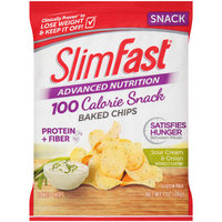 SlimFast Advanced Nutrition Snack Sour Cream & Onion Baked Chips