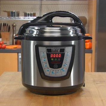 Harvest Direct Pressure Pro Pressure Cooker Size: 10 Quart, Color: Black