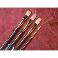 Princeton Artist Brush Synthetic Hair Angular Bright Brush Size: 6