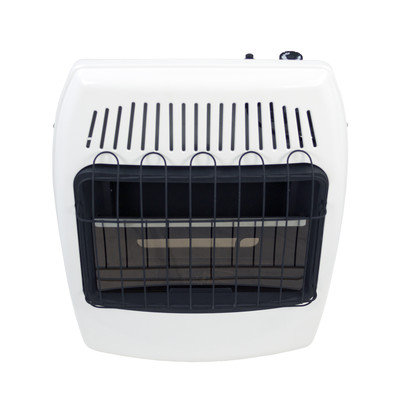 Dyna-glo 20,000 BTU Wall Mounted Natural Gas Manual Vent-Free Heater