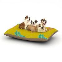East Urban Home Gukuuki 'Ipanema' Dog Pillow with Fleece Cozy Top Size: Large (50