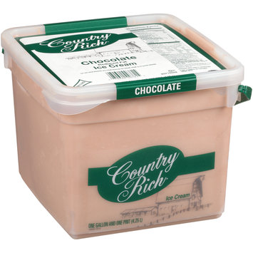 Country Rich® Reduced Fat Chocolate Ice Cream 4.25L Tub