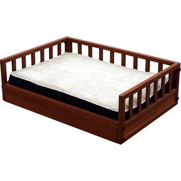 New Age Pet Chesnut Raised Pet Bed X-Large
