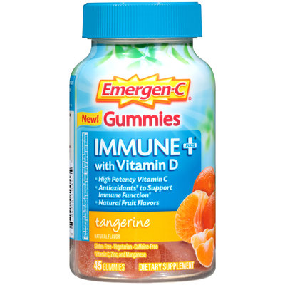 Emergen-C Gummies Immune+ with Vitamin D Tangerine