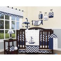 Geenny Explorer Nautical 13 Piece Crib Bedding Set