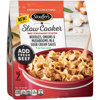 Stouffer's Slow Cooker Beef Stroganoff Starter 26 oz Bag