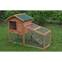 Aleko Wooden Pet House Poultry Hutch