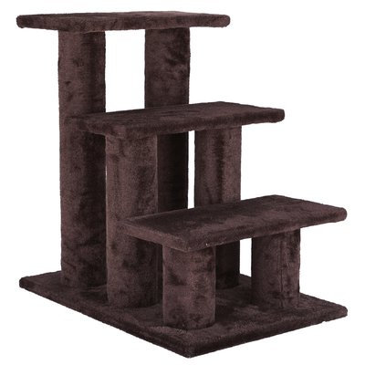 Trixie 3 Step Pet Stair Color: Brown