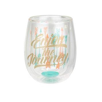 Top Shelf Enjoy the Journey 13 oz. Stemless Wine Glass