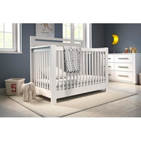 Harriet Bee Dana 2- in-1 Crib and Toddler Bed Mattress