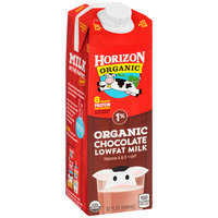 Horizon Organic® Chocolate Lowfat 1% Milk