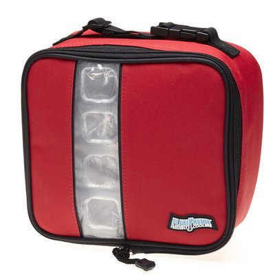 Maranda Enterprises FlexiFreeze Freezable Lunch Box Cooler Color: Red
