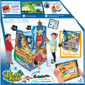 Playhut X Island Rush Game and Play Tent