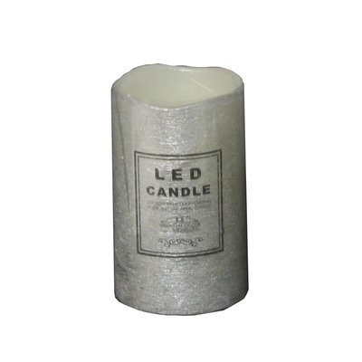 The Holiday Aisle LED Unscented Frameless Candle Size: 4