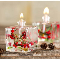 Wind & Weather Berries Cube Oil Unscented Designer Candle