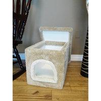 New Cat Condos Premier Litter Box Enclosure Color: Beige