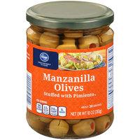 Kroger® Manzanilla Olives Stuffed with Pimiento 10 oz. Jar
