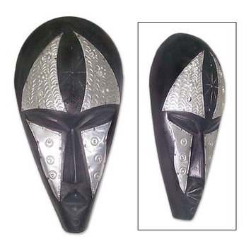 Bloomsbury Market Marni Oneness Ghanaian Wood Mask Sculpture