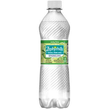ZEPHYRHILLS Sparkling Natural Spring Water Lime 0.5L Bottle