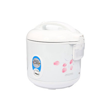 Tayama TRC-04 Cool Touch 5-Cup Rice Cooker, White