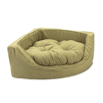 O'donnell Industries ODonnell Industries 23055 Small Luxury Corner Pet Bed Mossy MapleOlive