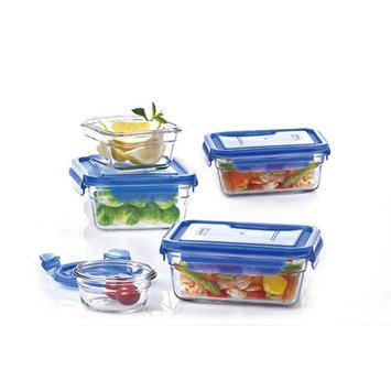 Glasslock 10 Piece Lid Container Set