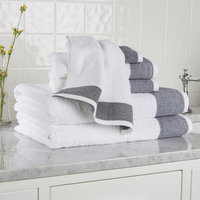 Birch Lane Claudine 6-Piece Towel Set Color: Black