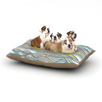 East Urban Home Gill Eggleston 'Drift' Dog Pillow with Fleece Cozy Top Size: Large (50