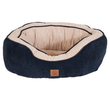 Precision Pet Chevron Gusset Daydreamer Bolster Dog Bed Size: 22