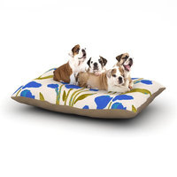 East Urban Home Gukuuki 'Shirley Gem' Dog Pillow with Fleece Cozy Top Size: Small (40