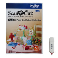 Brother International Scanncut 3d Paper Craft USB, Crafts