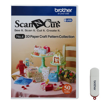 Brother International Scanncut 3d Paper Craft USB, Crafts