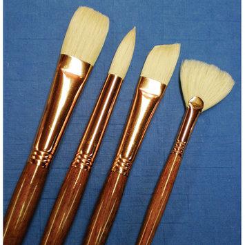 Princeton Artist Brush Natural Bristle Round Brush (Set of 2) Size: 4