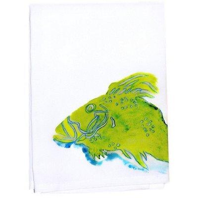 Betsy Drake Interiors Fish Hand Towel