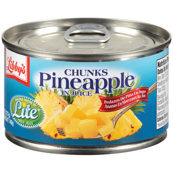 Libby's® Pineapple Chunks in Juice 8 oz. Pull-Top Can