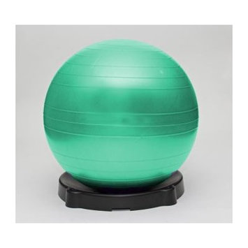 Isokinetics Exercise Ball Chair Color: Green, Size: 26
