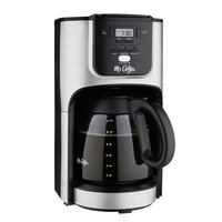 Mr. Coffee Inc. Mr. Coffee 12 Cup Programmable Coffeemaker, Stainless Steel