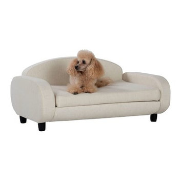 Offex Pet Sofa Bed Color: Oatmeal
