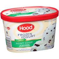 Hood® Lowfat Mint Chip Frozen Yogurt with Live & Active Cultures 1.5 qt. Tub