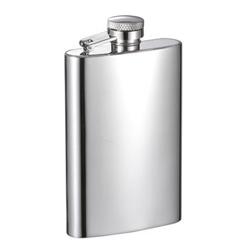 Visol Products Mini Stainless Steel Liquor Flask Finish: Mirrored