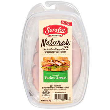 Sara Lee Naturals* Smoked Turkey Breast 8 oz. Pack